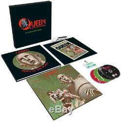 Queen News Of The World, 2017 Eu 40th Anniversary Lp + 3cd + DVD Box Set, New