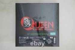 Queen News Of The World 40th Anniversary Edition LP CD DVD