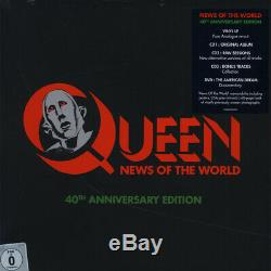 Queen News Of The World 40th Anniversary (Vinyl Box Set 1977 EU Reissue)