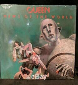 Queen News Of The World 6E-112 1977 Original US Sealed Notched Gatefold