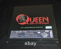 Queen News Of The World Japan Box Set 3 Cd+1 Dvd+Lp Sealed
