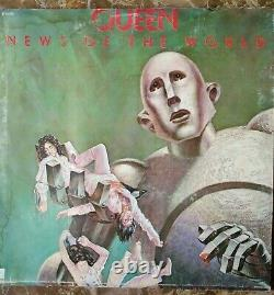 Queen News Of The World LP Vinyl Vintage Record12 Album released 1977