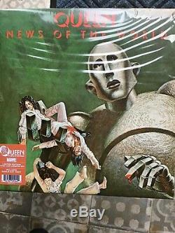 Queen. News Of The World. Limited Edition Marvel Comic Con. Mint And Sealed