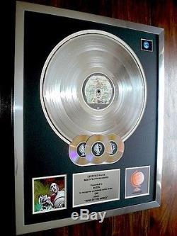 Queen News Of The World Lp Multi Platinum Disc Record Award Album