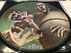 Queen News Of The World Numbered Limited Edition Picture Disc Vinyl Lp 1977 Only