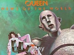 Queen News Of The World Original First Press Lp 1977