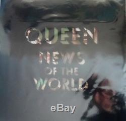 Queen News Of The World Picture Disc number 0044/1977 Limited Edition LOW NUMBER