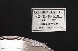 Queen News Of The World Platinum Lp Ltd Signature Record Display C3