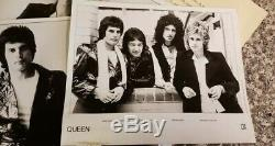 Queen News Of The World Press Kit / Press Releases, Original 1977 Very Rare
