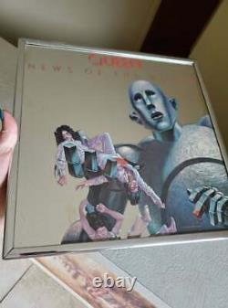 Queen, News Of The World Rare Promo Mirror from 1977 VERY RARE
