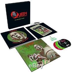 Queen News Of The World Sealed 40th Anniversary Vinyl LP CD DVD Book Box Set