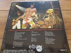 Queen News Of The World Tour V. Rare 3lp Box Set + Tour Book + Poster 77 New