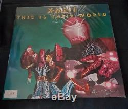 Queen News Of The World X-Men Comic Con London 2017 Limited 073 vinyl lp record