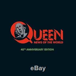 Queen News Of The World (limited 3cd+dvd+lp Super Dlx) 4 Cd+dvd Neu