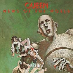 Queen News Of The World (limited Black Vinyl) Vinyl Lp New+