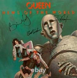Queen News of the World Autographed Album
