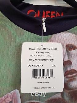 Queen News of the World Cycling Jersey (Cycle Shirt Bicycle Top) New
