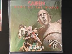 Queen News of the World Marvel X men Comic Con Exclusive Rare vinyl lp record