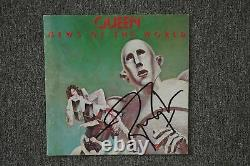 Queen News of the World (Roger Taylor) CD Album signed / autograph / signiert