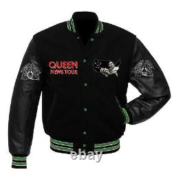 Queen News of the World Tour of USA Varsity jacket all sizes