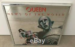 Queen News of the world USA promo mirror from 1977 excellent condition