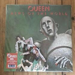 Queen News of the world vinyl marvel x-men comic con Mega Rare 220 only