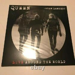 Queen Picture discs LP Vinyl (Live ATW, News Of The World, Jazz, The Game) RARE