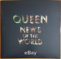 Queen news of the world (limited to 1977 items) picture disc RARE