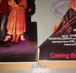 RARE Elvira Mistress Of The Dark 1988 Complete Movie Theater Standee New World