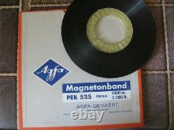 REEL TO REEL TAPE 2TR GEN. MASTER TAPE Queen News Of The World