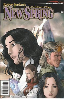Robert Jordan Comics Lot Wheel of Time New Spring + First 14 Eye of the World