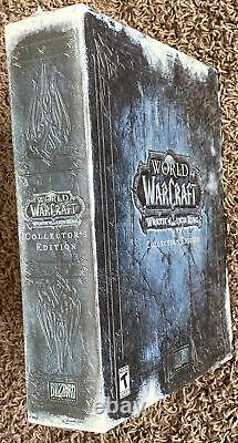SEALED/NEW World of Warcraft Wrath of the Lich King Collector's Edition