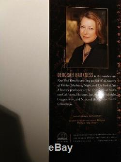 SIGNED The World of All Souls by Deborah Harkness, autographed, new