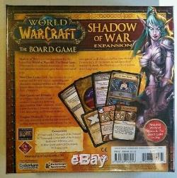 Shadow of War Expansion World of Warcraft the Board Game (NEW)