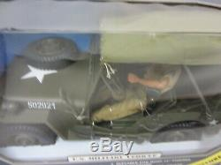 Soldiers Of The World 1/6 Scale Willys Deluxe Jeep Wwii With Figure New In Box