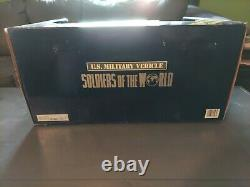 Soldiers of the World Deluxe Edition U. S. Military Vehicle 16 NEW