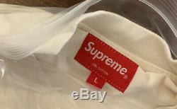 Supreme Top Of The World S/s Top Natural Size Large Ss20 Week 9 (in Hand) New
