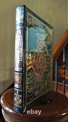 THE ILLUSTRATED WORLD OF TOLKIEN Easton Press LARGE DELUXE NEW SEALED RARE
