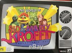 THE WORLD OF SID & MARTY KROFT Collector's 14 x Box Set DVD BRAND NEW