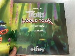 The Art Of Dreamworks Trolls World Tour Brand New 2020 Hardcover Book Rare
