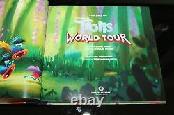 The Art of DreamWorks Trolls World Tour 2020 New Hardcover BOOK limited