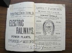 The Bureau of Information World ALMANAC 1889 New York RARE