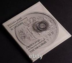 The Drachma of 1832 Bimetallic Coin NEW SUPER RARE Greece 1821-2021