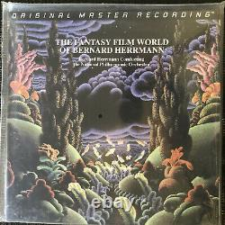 The Fantasy Film World Of Bernard Hermann-MOFI-BRAND NEW-LIMITED EDITION
