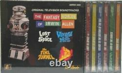 The Fantasy Worlds of Irwin Allen Soundtrack 6 CD Boxed Set NEW UNUSED