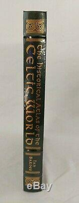 The Historical Atlas of The Celtic World, EASTON Press. Free shipping Sealed New