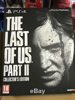 The Last of Us Part II 2 Collectors Edition NEW SEALED Free Shipping worldwide