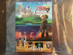 The Legend of ZELDA A Link Between Worlds Collectors Edition 3DS New