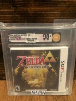 The Legend of Zelda A Link Between Worlds (Nintendo 3DS) New Sealed Mint VGA 90+