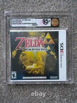 The Legend of Zelda A Link Between Worlds VGA Graded 95+ NEW SEALED NTSC nt WATA